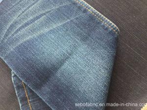 12oz Rain Slub Denim Fabric with Super Stretch