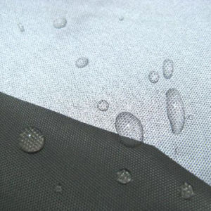Waterproof Polyester Oxford Breathable PU Milky Coated Fabric pictures & photos