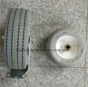 3.50-4 3.50-5 3.50-6 4.00-6 4.00-8 PU Foam Flat Free Tyre pictures & photos