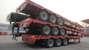 40FT Flat Bed Container Semi Trailer pictures & photos
