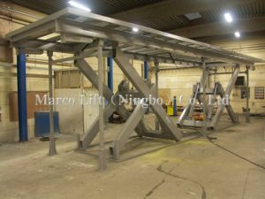 Marco Twin Scissor Lift Table with Special Platform pictures & photos