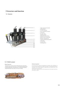Zw32-24 Outdoor High-Voltage Alternating-Current Vacuum Circuit Breaker pictures & photos