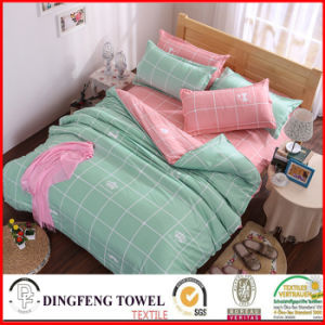 100% Cotton Reactive Printed Bed Sets df-8918 pictures & photos