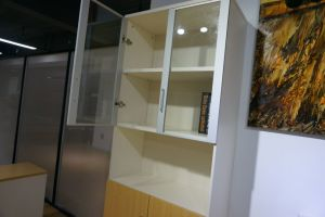 Wooden Frame Filing Cabinet with Glass Door (FC-W4A+W1A) pictures & photos