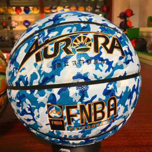 Basketball Customized Wear-Resisting Quality Cheap 8pieces 4#5#6#7# PU Sg5221/2/3 Camouflage Pattern Basketball pictures & photos