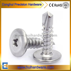 Stainless Steel Cross Recessed Truss Washer Head Self Drilling Screws pictures & photos