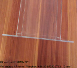 Clear Plastic Brochures Holder for Office pictures & photos