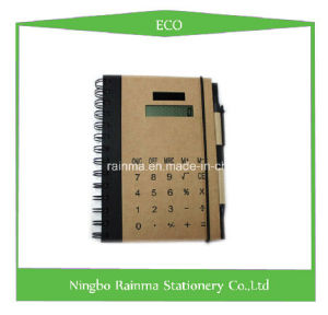Eco Notebook with Calculator Cover pictures & photos
