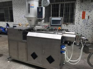 Plastic Extruding Machine for Making Fluoroplastic Medical Pipe pictures & photos