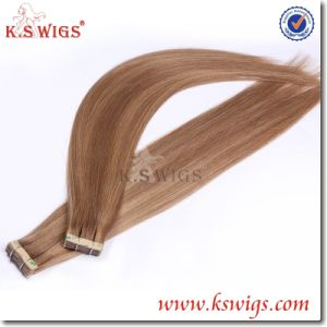 Tape Hair Extension 100% Brazilian Virgin Remy Human Hair pictures & photos