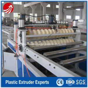 High Quality PVC Corrugated Board Extrusion Machine pictures & photos