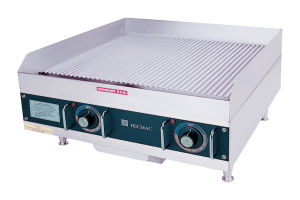 24 in Commercial Electric Grooved Griddle---Stainless Steel (FEHCC216) pictures & photos
