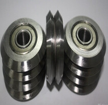 Stainless Steel Track Roller Guide U V W Groove Bearing W3 W3X Ssw3X RM3zz pictures & photos