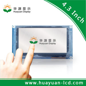 4.3 Inch RTP or CTP Touch Screen 480X272 TFT LCD Display for Automobile Data Recorder