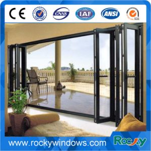 Sale Double Glass Garden Insulate Floding Door pictures & photos