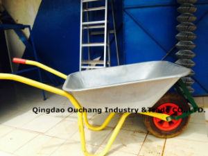 Construction Wheel Barrow with Galvanize Tray