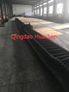 Corrugated Sidewall Common Rubber Industrial Conveyor Belt pictures & photos