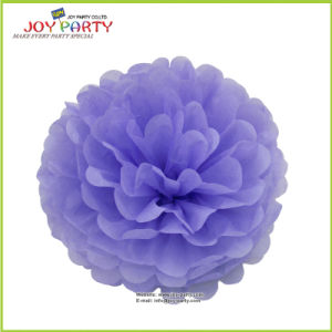 Lila Lavender Paper POM Poms for Wedding Decoration