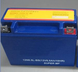 Yb10L-B 12V10ah Sealed Maintenance Free Motorcycle Battery pictures & photos