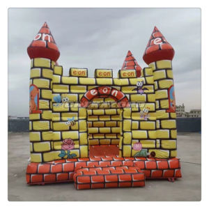 Customized Design Full Paintings Inflatable Jumping House