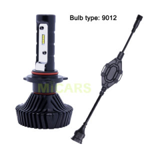 The Latest Super Bright Halogen Replacement 4500lm 9012 Philips Car LED Headlight pictures & photos