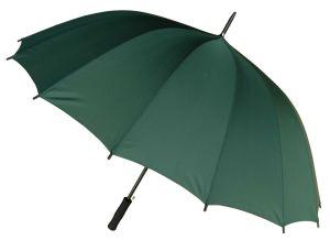 Automatic Open 16ribs Metal Shaft Advertising Golf Umbrella (75G215)