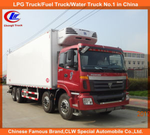 Heavy Duty 6*4 15cbm 10 Wheeler Refrigerator Truck Foton Refrigerated Truck pictures & photos