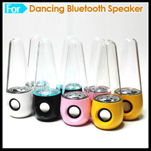 Dancing Water Music Fountain Bluetooth Dual MP3 Speaker with Powerful Sound pictures & photos