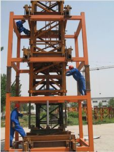 Inner Climbing Tower Crane Qnp31.5 pictures & photos