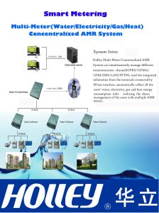 Utility Meter Centralized AMR Metering System pictures & photos