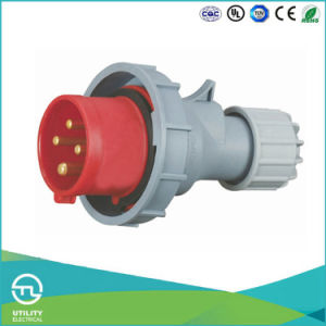 Utl Uz-282 Industrial Plug Plastic Connector IP67 16A 4pin 400V pictures & photos