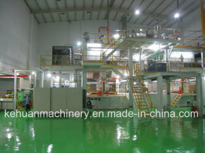 2.4m SMS New Technology PP Spunbond Nonwoven Fabric Making Machine pictures & photos