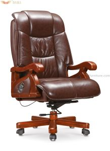 Modern Metal Rotary Leather Office Chair (HY-B-054) pictures & photos