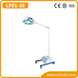 Veterinary Emergency Cold Light Operating Lamp (on stand) (LP01-5E) pictures & photos