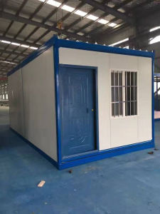 Sandwich Panel Folding Container House Temporary Military Camp pictures & photos