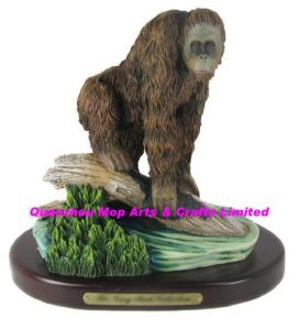 Polyresin Orangutan Figurine, Resin Orangutan Statue pictures & photos