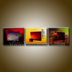 Modern Abstract Canvas Art Oil Painting for Home Decor (KLA3-0029)