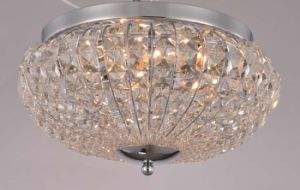China Professional Crystal Round Home Ceiling Lighting for Living Room