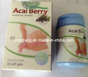 Natural Acai Berry Herbal Slimming Softgel (SG001-AB) pictures & photos