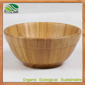 Custom Designer Natural Bamboo Soup Bowl for Dinnerware pictures & photos