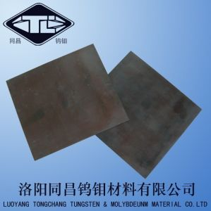 Black Molybdenum Sheet and Alkali Washed Molybdenum Sheet pictures & photos