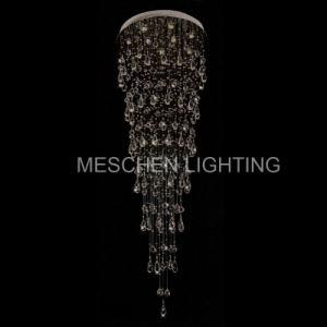 Raindrop Crystal Chandelier Modern Lighting Fixture