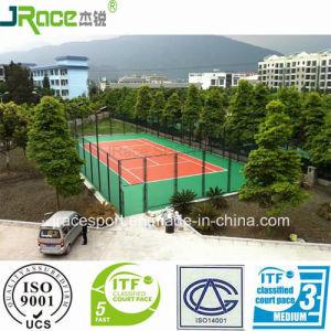 Dirt-Resistant Tennis Court Sports Flooring Suitable for School pictures & photos