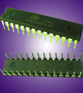 Orginal and New Logic IC for Electronic Engineering (Atmega 48PA-PU) pictures & photos