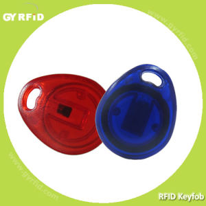 125kHz 13.56MHz ISO14443A Ultralight RFID Keyfob Keychain Key Card Tag pictures & photos