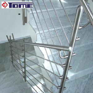 Stainless Steel Stair Railing, Glass Railing pictures & photos