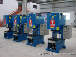 Metal Punching C Frame Hydraulic Press pictures & photos