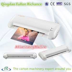 A4 Size Manual Laminating Machine for Photo Menu pictures & photos