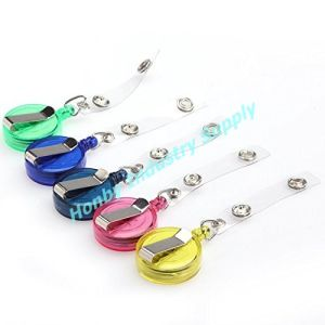 Mixed Color Retractable Reel Recoil ID Badge Holder Lanyard Tag Key Card Belt Clip pictures & photos