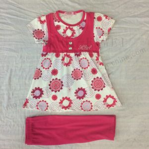 Summer Kids Girl Suit for Children′s Clothes Sq-6659 pictures & photos